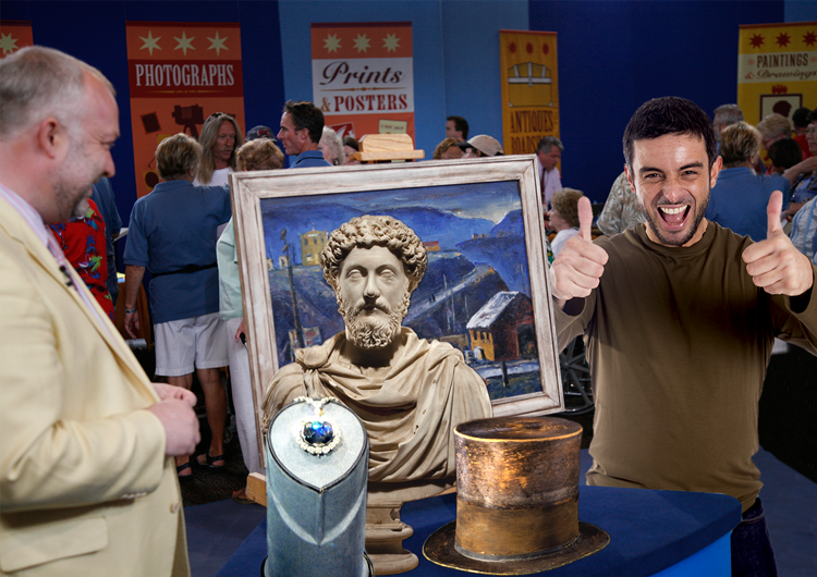 Smithsonian treasures on the antiques roadshow