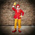 A Brand-New Ronald McDonald is Here, and He's Out for Blood
