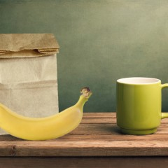 Banana Comes of Age in Brown Paper Bag