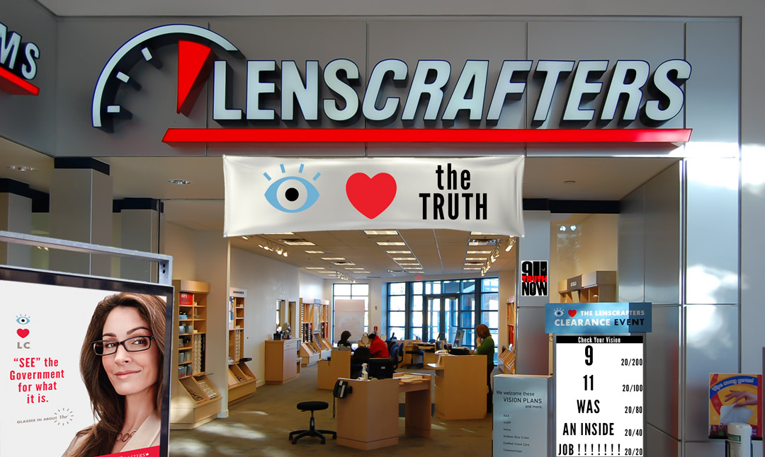 Lenscrafters 9/11 Truthers Salee