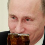 Vladimir Putin's Nose Tickled By Soda