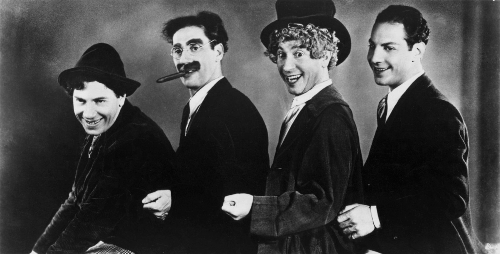 biographies of the famous marx brothers The biography of groucho marx, master of the wise-crack, and with his brothers  the most famous of the marx brothers died on august 19, 1977 and was laid to.