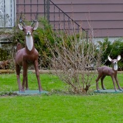 Let's Stop It With the Fake Deer On Lawns
