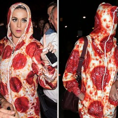Pizza Couture, or the Celebrity Response to the Forever Lazy