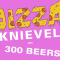 Pizza Knievel Jumps 300 Beers to Celebrate Friday