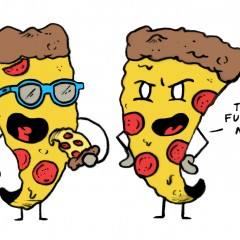Pizza Cannibalism