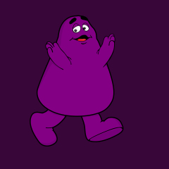A Word From Grimace