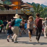 Jurassic World Tourists Run Screaming From Margaritaville