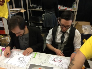 Kris Wilson and Shawn Coss