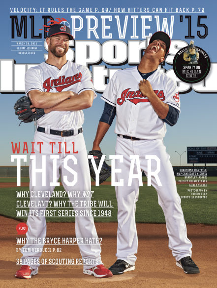Cleveland Indians 2015 SI Cover