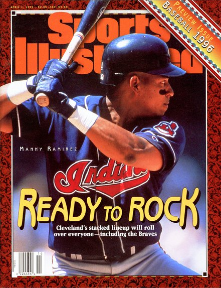 Manny Ramirez Indians SI Cover