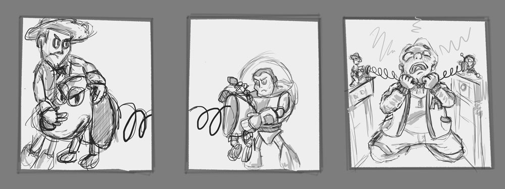 Toy Story 5 Storyboard