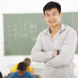 Area Man Wang Dong Eager to Begin Teaching at Local Middle School