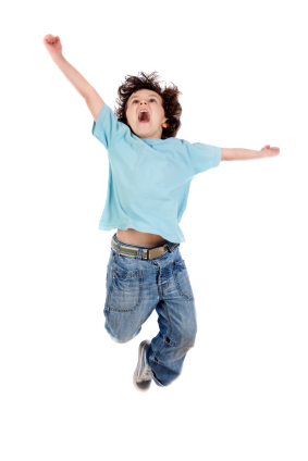 This is me when I found out mom brought home Teddy Grahms.