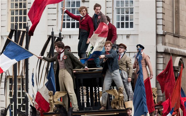 I tried watching Les Miserables but I just kept singing