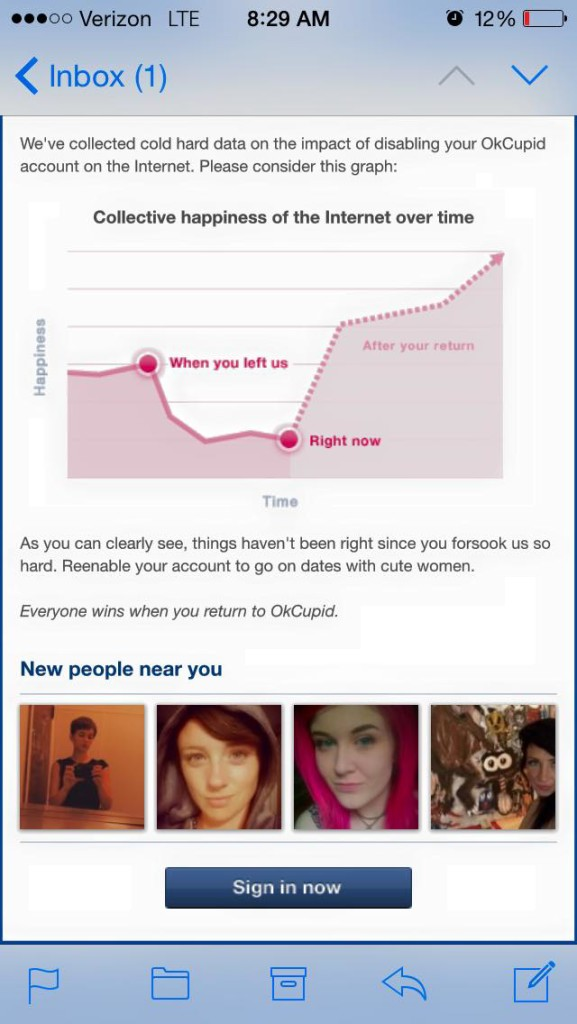 Okcupid free online dating search