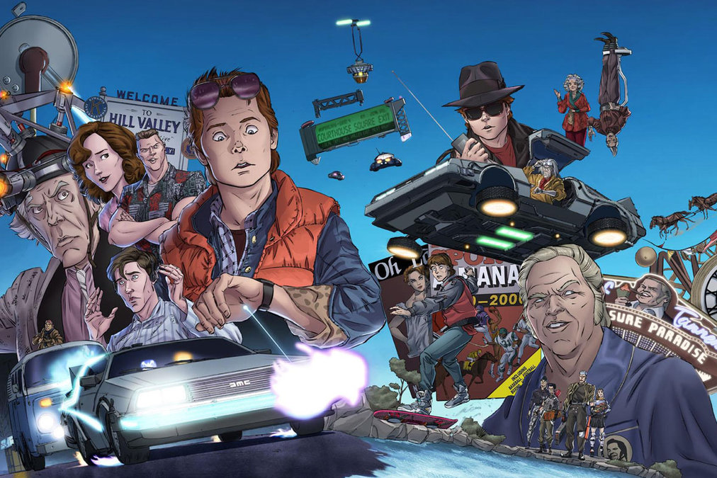back to the future the comic