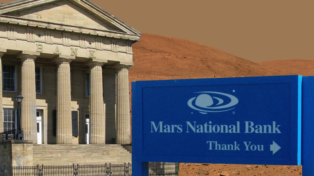 Interest Rates at the First Bank of Mars Are Astronomical