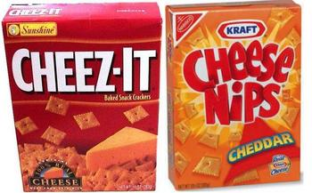They'll replace your Cheez-Its with Cheese Nips. THOSE MONSTERS