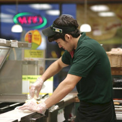 Sandwich Artist Moves Into Cubist Phase