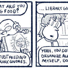 The Library Gnomes