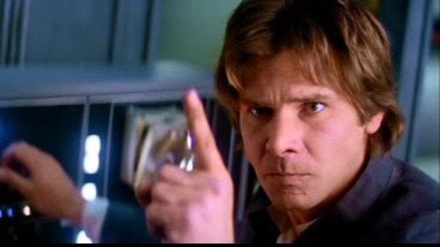 """Never tell me the odds!"" - Han Solo/People who are not good at math"
