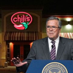 Jeb Bush Endorses Lunch Specials at Chili's