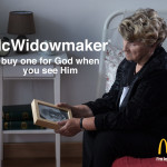 McDonald's Debuts New Burger Named 'The McWidowmaker'