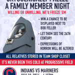 Cleveland Indians to Host 'Cryogenically Freeze a Family Member Night'