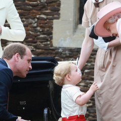 Queen Elizabeth Whispers 'One Day I Will Bury You' to Prince George