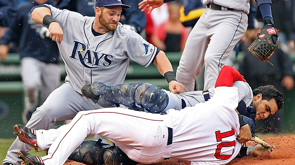 Red Sox Rays Fight