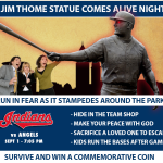 Cleveland Indians to Host 'Jim Thome Statue Comes Alive Night'
