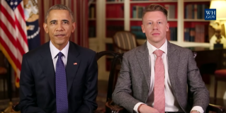 Macklemore Appears in Obama's Weekly Address, But Not to Apologize for His Music