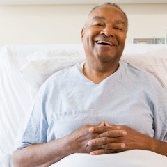 Patient Fills Up Entire Bedpan in Honor of International Nurses Day