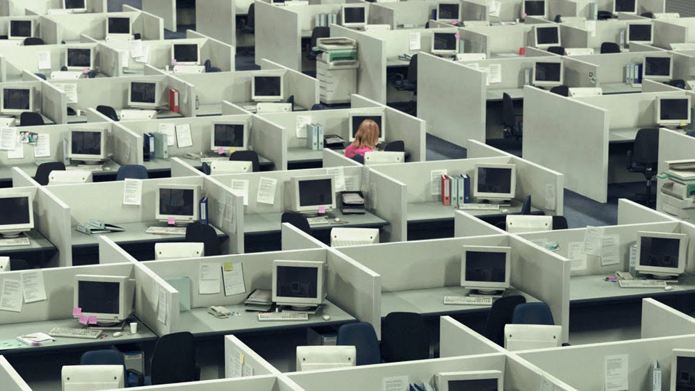 Empty Cubicle Farm