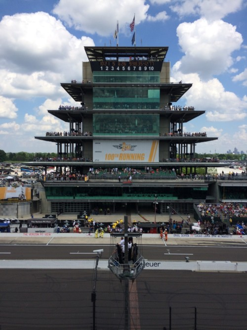 Indy 500 Infield