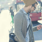 Man Narrowly Avoids Social Confrontation By Pretending to Text