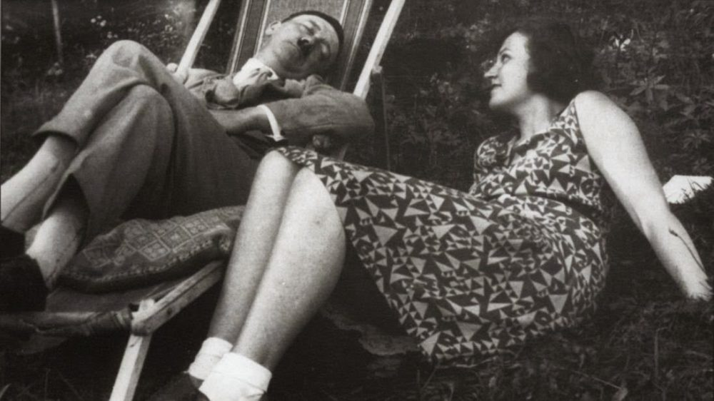 Hitler Sleeping