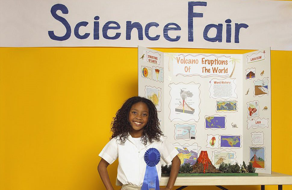 Science Fair Girl