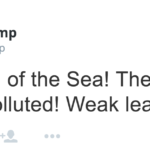 Whoa: Donald Trump Is Calling Out Poseidon on Twitter and No One Knows Why