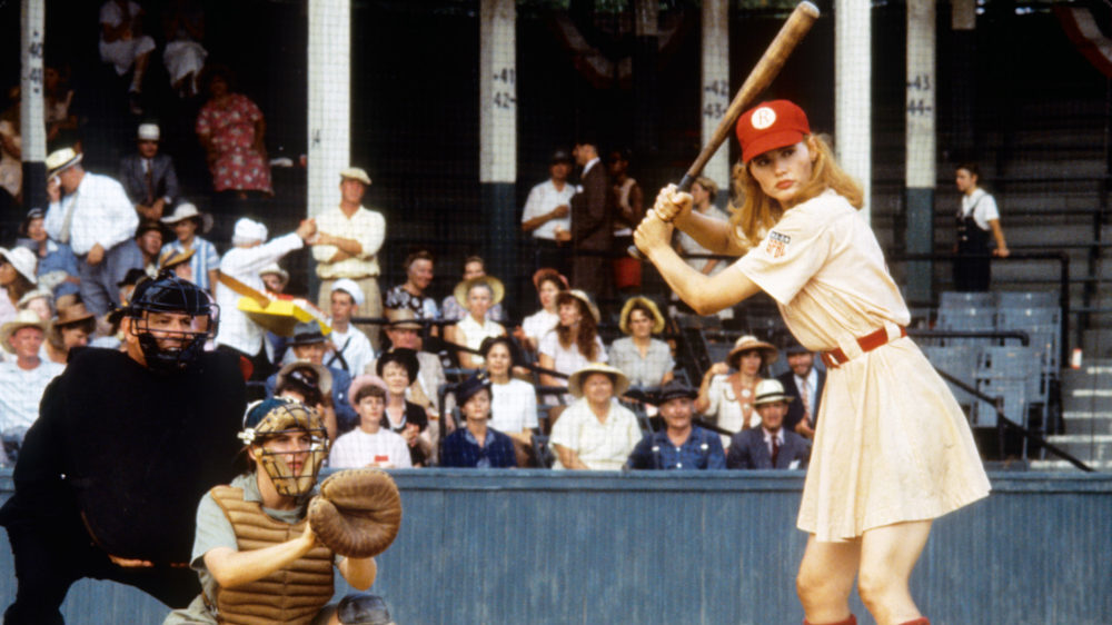 A League of Their Own (1992)Directed by Penny MarshallShown: Geena Davis