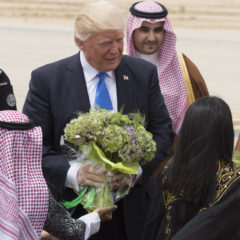 Trump Heads Back to Saudi Arabia Instead of DC, Has 'Nothing to Do With That Russia Stuff'
