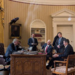President Trump Tells Charming Story About Bird That Keeps Flying Into Oval Office