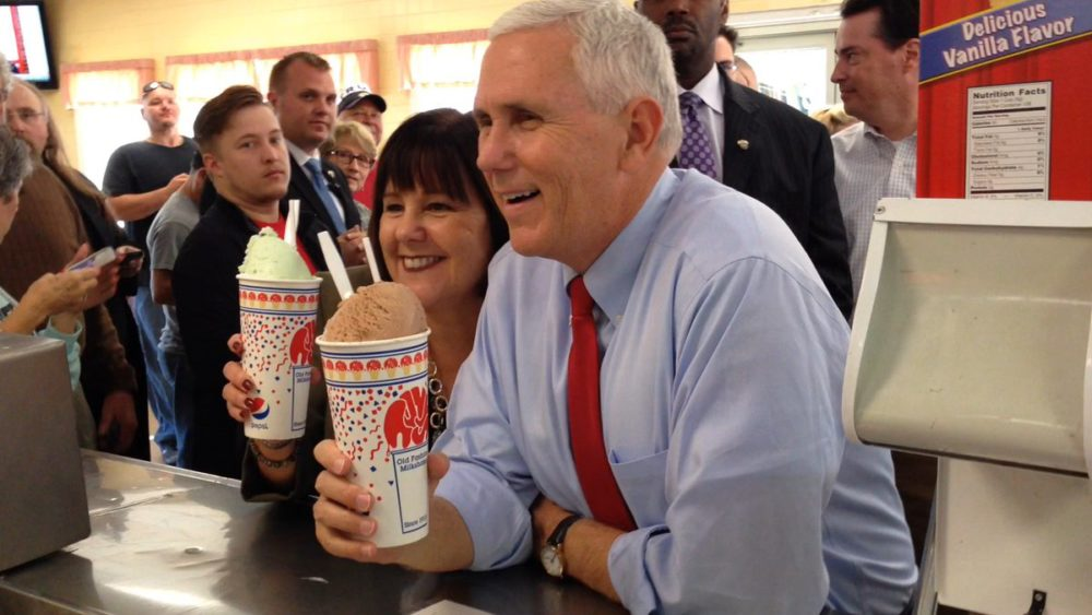 Mike Pence Ice Cream