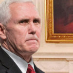 Mike Pence Noticeably Sweaty After Citing 69 Percent Manufacturing Growth
