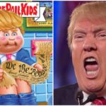Wacky Packages, Garbage Pail Kids or Actual Tweets From Donald Trump and Mike Huckabee?