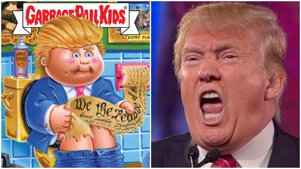 Donald Trump Garbage Pail Kids