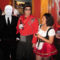 Slenderman at Halloween Party Pretty Fat