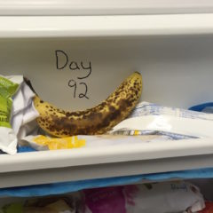 Blackened Banana in Freezer Doubts It'll Ever Be Used to Make Bread