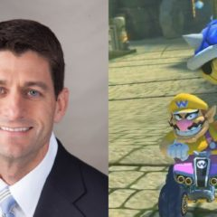 Paul Ryan Introduces Legislation Allowing Only People in First Place in Mario Kart to Get Blue Shells